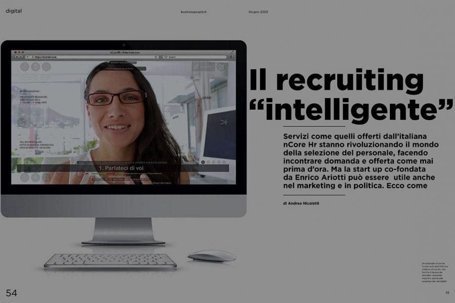 Il recruiting intelligente: l'articolo di nCore su Business People